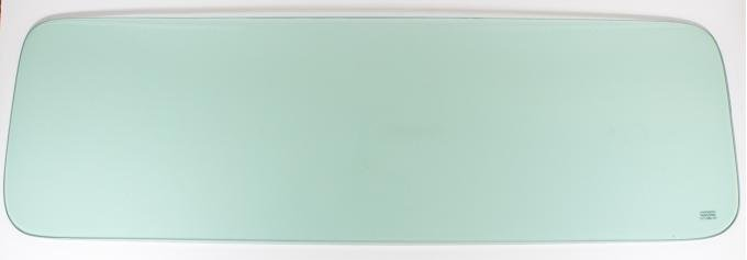 AMD Back Glass, Green Tint, 55-59 Chevy GMC Pickup w/ Small Back Glass ('55 2nd Series) 660-4055-T