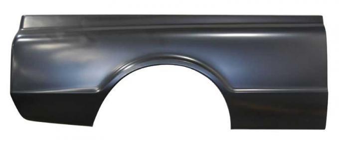 AMD Bedside w/o Stake Pocket Holes w/o Side Market Lamp Holes, RH, 67-72 Chevy GMC C/K Fleetside Short Bed Pickup X720-4067-3R