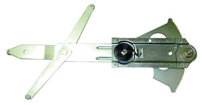 AMD Front Door Manual Window Regulator, LH, 69 Chevelle GTO Skylark Cutlass (2DR Coupe & Convertible) X545-3469-L