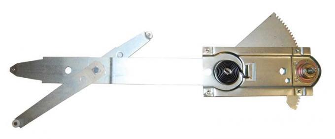 AMD Front Door Manual Window Regulator, LH, 66-67 GTO X545-5466-L