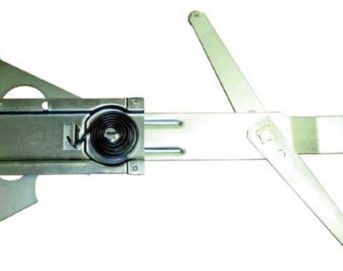AMD Front Door Manual Window Regulator, RH, 69 Chevelle GTO Skylark Cutlass (2DR Coupe & Convertible) X545-3469-R