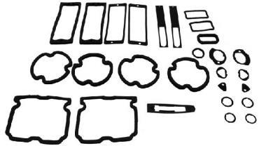 Montco Inc / Repops Paint Gasket Kit, 71-72 Chevelle R-CH167