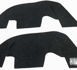 Montco Inc / Repops Control Arm Dust Shield Set w/ Hardware, 69-72 Chevelle El Camino w/ Plastic Inner Fenders R-CH106