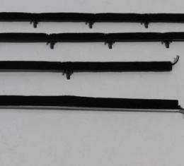 Montco Inc / Repops Window Felts, Outer (4pcs), 66-67 Chevelle Coupe R-CH177A
