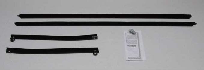 Montco Inc / Repops Window Felts, Outer (4pcs), 70-72 Chevelle Convertible R-CH184A