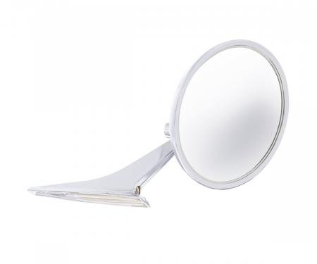 United Pacific Exterior Mirror w/Convex Mirror Glass For 1966-72 Chevy Passenger Car 110827