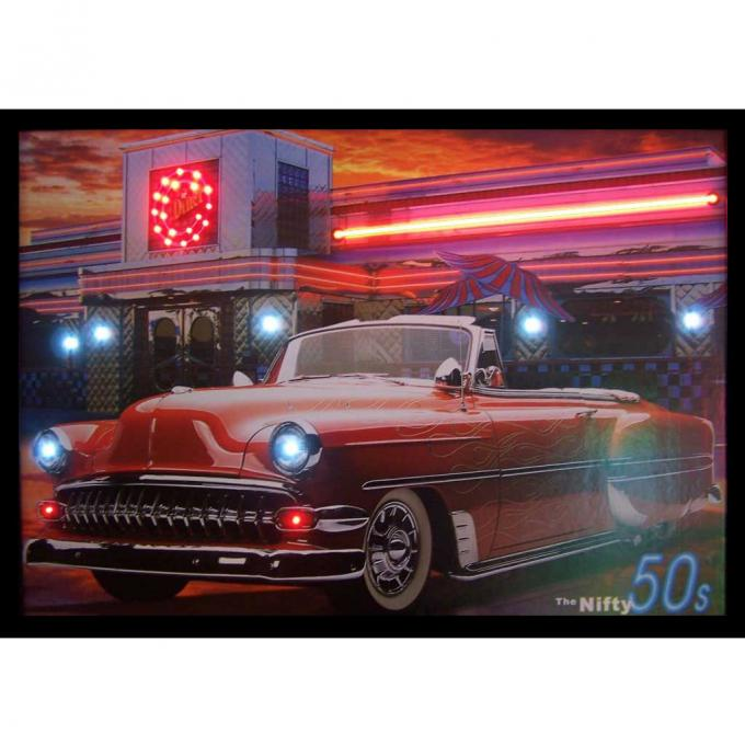 Neonetics Neon/led Pictures, Nifty 50's Neon/led Picture