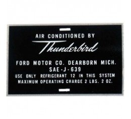 Air Conditioning Decals