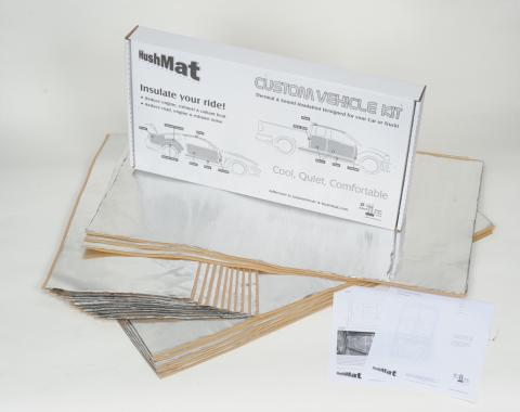 HushMat Peterbilt 359 1981-1988  Flat Top Truck 36 in. Sleeper Floor Only Insulation Kit 81101