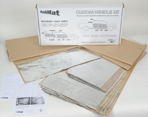 HushMat Toyota Camry 1997-2001   Sound and Thermal Insulation Kit 68996