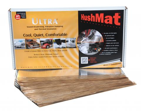 "HushMat Bulk Kit - Silver Foil with Self-Adhesive Butyl-30 Sheets 12"" x 23"" ea 58 sq ft 10501"