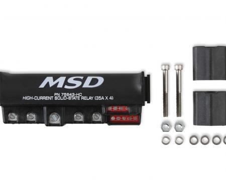 MSD High Current Relay Block 75643-HC