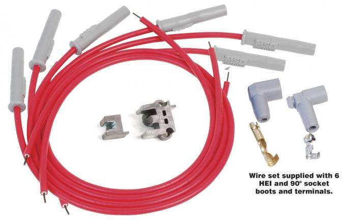 MSD Universal Spark Plug Wire Set 31179