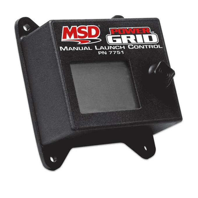 MSD Power Grid Ignition System™ Manual Launch Control 7751