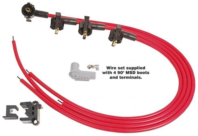 MSD Universal Spark Plug Wire Set 31689