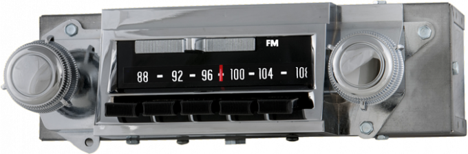 AAR 1967 Chevrolet Chevelle AM/FM Reproduction Radio with Bluetooth 612201BT