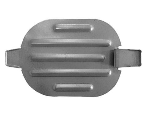 Malibu Trunk Floor Pan, Drain Plug, Large, 1978-1983