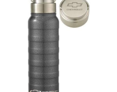 Grey 25oz Stainless Steel Chevrolet Clayton Bottle