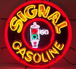 Neonetics Standard Size Neon Signs, Gas - Signal Gasoline Neon Sign