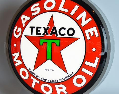 Neonetics Backlit and Specialty Led Signs, Texaco Motor Oil 15 Inch Backlit Led Lighted Sign