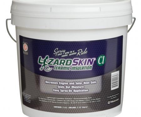 LizardSkin Original Ceramic Insulation, 2 Gallon Bucket White 1301-2