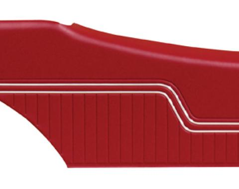 Distinctive Industries 1970-72 Chevelle Coupe Rear Quarter Panels, Preassembled 091256P