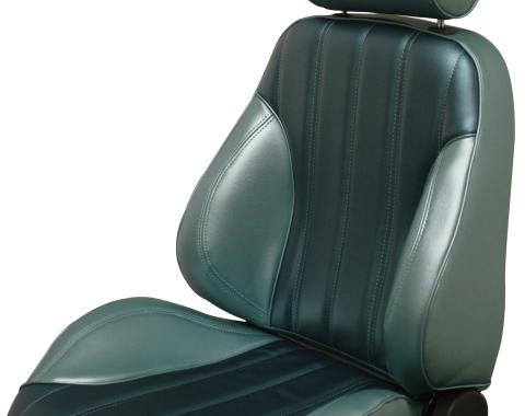 Distinctive Industries 1966 2-Tone Chevelle & El Camino Touring II Assembled Front Bucket Seats 090476