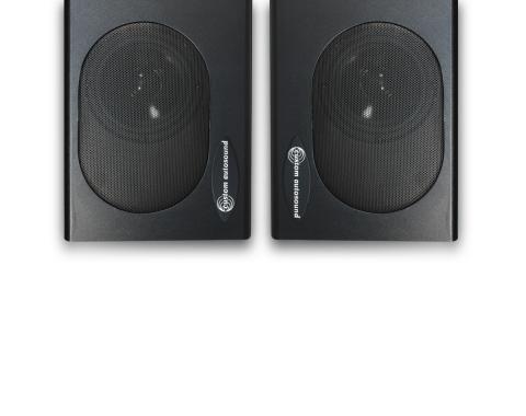 Custom Autosound Undercover I Speaker Enclosures