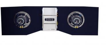 Custom Autosound Backseat Driver, Chevelle, with Dual 8'' Subwoofers & BOSS 800 Watt Amplifier, 1968-1972