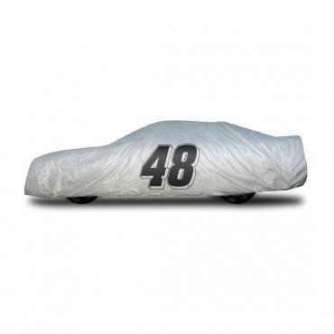 Elite Premium™ 1997-2013 Corvette Jimmie Johnson Car Cover, Gray