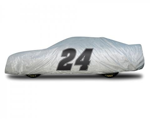 Elite Premium™ 1997-2013 Corvette Chase Elliott Car Cover, Gray