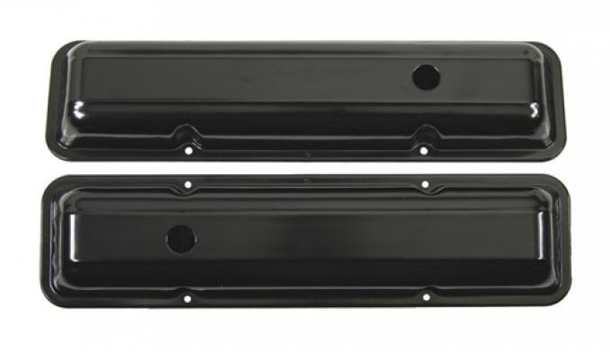 Classic Headquarters Small Block and Corvette Valve Covers-Pair-Paint W-543