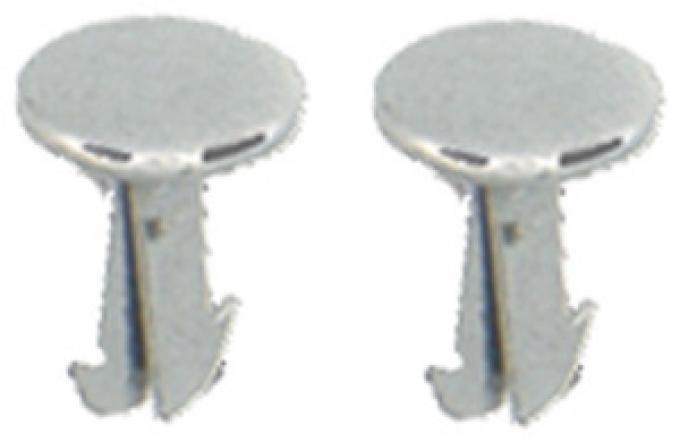 Classic Headquarters Clip, Hinge Arm Fastener, Pair W-690A