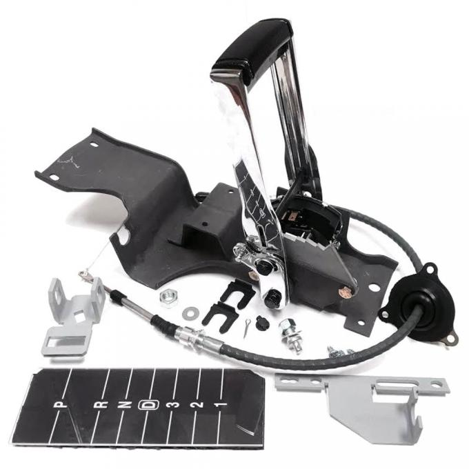 Chevelle Shifter Conversion Kit with Floor Shifter Assembly, 1968-1970 | TH350/TH400 with Slap Shift