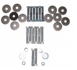 Ted Williams Enterprises LLC Body Mount Hardware Set, 64-67 Chevelle Cutlass (Convertible); GTO Skylark (Coupe & Convertible) C-V-1454
