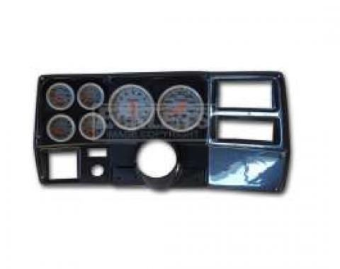 Classic Dash Instrument Panel, Carbon Fiber, With Autometer Ultralite Electric Gauges, 1973-1983