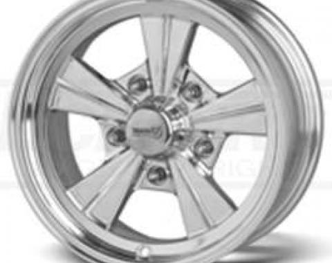 Chevy or Gmc Polished Strike Wheel, 15x8, 5x5 Pattern, 1967-1987