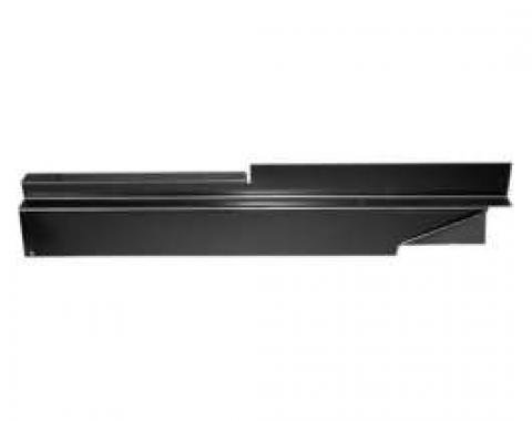Chevy Truck Rocker Panel Backing Plate, Left, 1973-1987