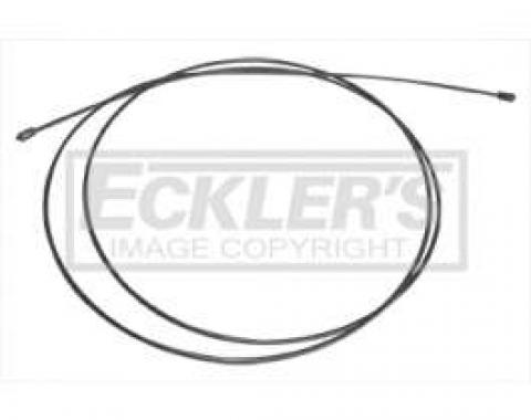 Chevy & GMC Truck Emergency Brake Cable, Intermediate, Short Bed, Except TH400, 1966-1972