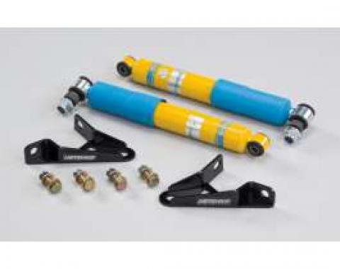 Chevy & GMC Truck Front Shocks, Hotchkis Tuned / FOX, With Relocation Brackets, C-10, 1963-1972