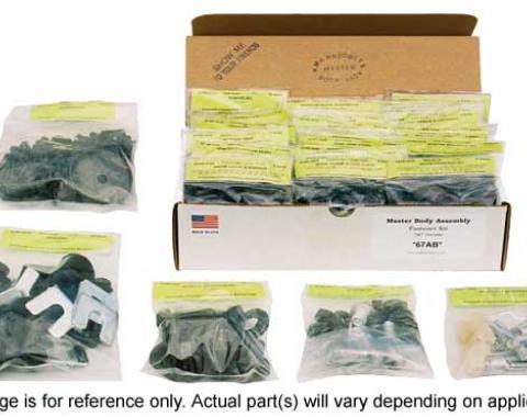 AMK Products Inc Master Body Hardware Kit (473pcs), 69 Chevelle H-69AB