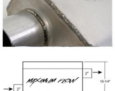 Hooker Maximum Flow Muffler 21630HKR
