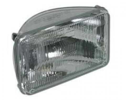 Malibu Sealed Beam Headlight, High Beam, 1982-1983