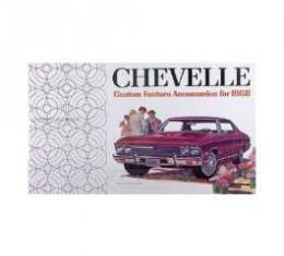 Chevelle Color Accessory Brochure, 1968
