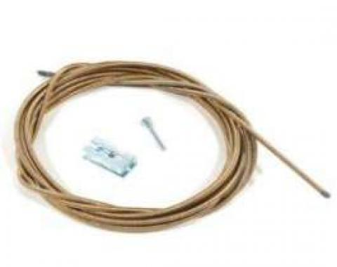 Malibu Speedometer Cable, With Cruise Control, Without Gear Adapter Or TH200, Lower, 1982-1983
