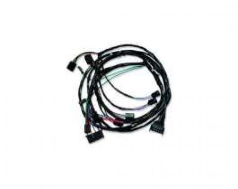 Chevelle Front Light Wiring Harness, For Cars With Factory Gauges, 1964