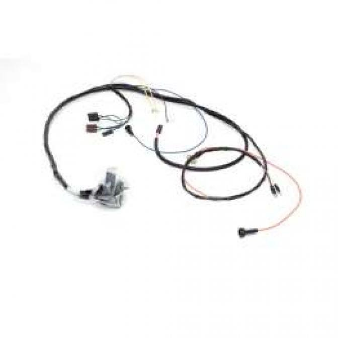 Chevelle Engine Wiring Harness, Big Block, For Cars With Factory Gauges & Idle Stop Solenoid, 1969