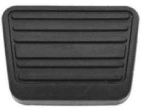 Chevelle Clutch Pedal Pad, 4-Speed, 1973-1977