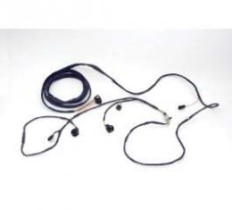 Chevelle Rear Body Wiring Harness, 2-Door Coupe, 1968