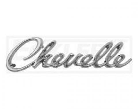 Chevelle Header Panel Emblem, Chevelle, 1968-1969